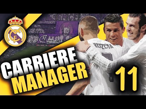 FIFA 17 - REAL MADRID - CARRIÈRE MANAGER - DERBY + LDC + MERCATO ?! #EP.11