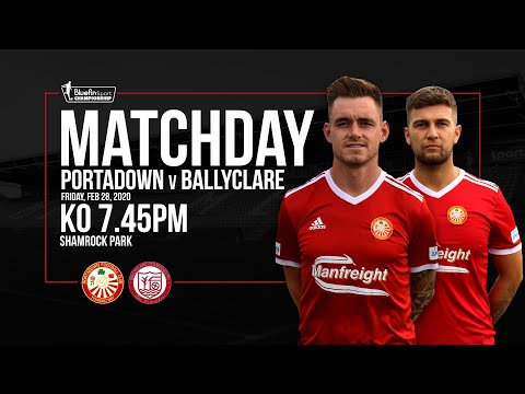 Portadown Ballyclare Goals And Highlights