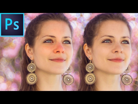 How To Fix RED SKIN Quickly - Photoshop Tutorial