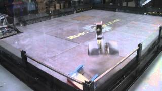 RoboChallenge Open Day 2012 - Diablo vs Trouble Starter 2 (Part 1)