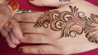 mehndi designs easy || new Arabic mehndi designs || shaded mehndi designs || simple mehndi designs