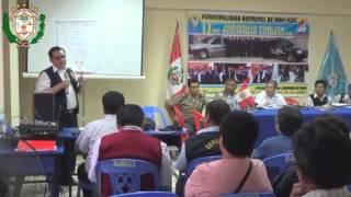 Segunda Audiencia Pública de Seguridad Ciudadana en Hualmay - 2014