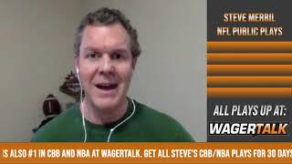 NFL Public Betting Report | Steve Merril's NFL Wild Card Betting Update
