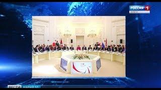 Смотреть видео Глава Марий Эл принимает участие в заседании Совета губернаторов России и Японии онлайн