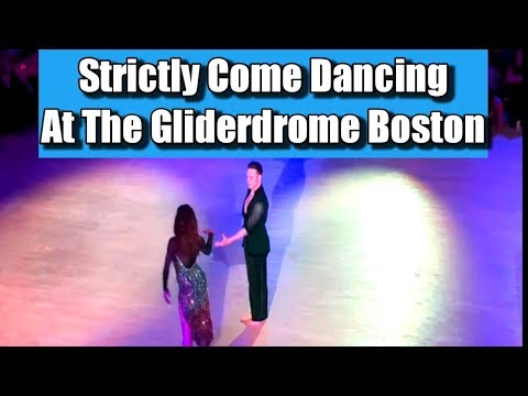 Kevin and Karen Clifton dancing the Rumba at the Gliderdrome Boston Lincs on 6 May 2017