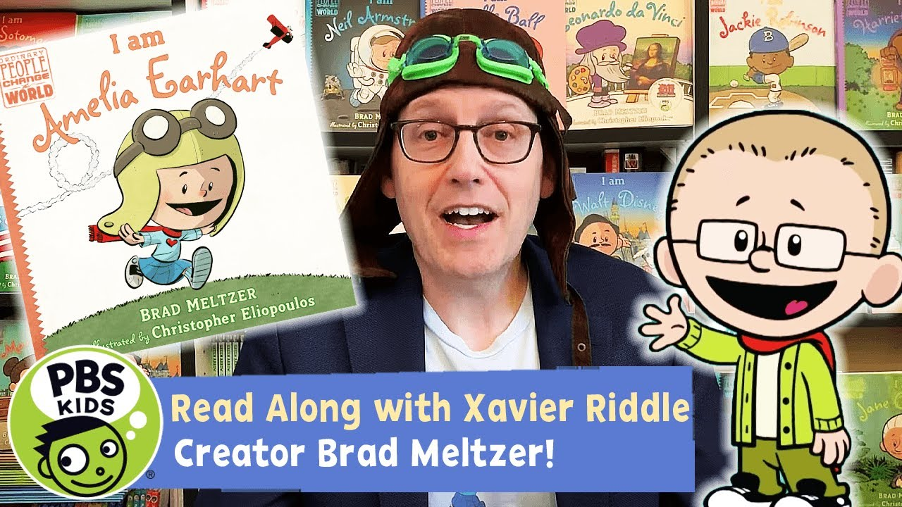 I am Amelia Earhart | Xavier Riddle READ ALONG!