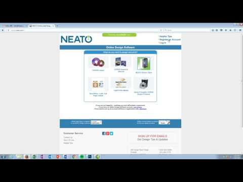 Neato Online Design Software Registration And Login Youtube