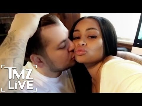 Blac Chyna & Rob Kardashian Are Back On Good Terms ... For Now | TMZ Live