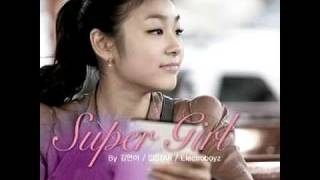 Kim Yuna, Sistar & Electroboyz - 슈퍼 걸(Super Girl) (New Single) + Mp3 Download Link