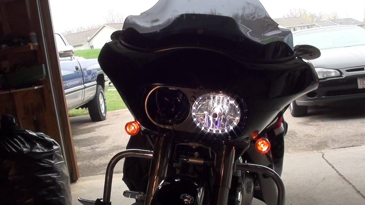 Harley Road Glide Led Halo Headlight