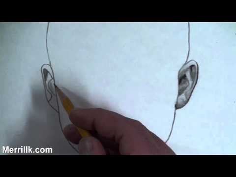 Download How To Draw A Realistic Ear video mp3 mp4 3gp ...