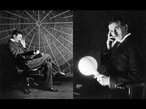 Nikola Tesla - Interview 1899 - Everything Is Light - DEUTSC