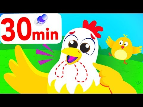 The Chicken Dance, Baby Panda, Where's My Tail? and more, compilation by Little Angel