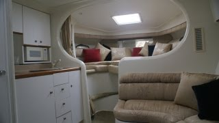 Silverton 310 Interior Walkthru Video by South Mountain Yachts