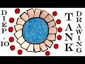 Diep.io Best Tank drawing | How to Draw a Tank Easy for Kids and color | Diep.io game | Tank No2