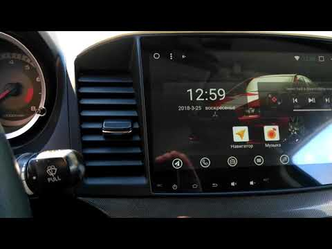 Магнитола для Mitsubishi Lancer X на базе Android 7.1 (Asottu CYS1060)