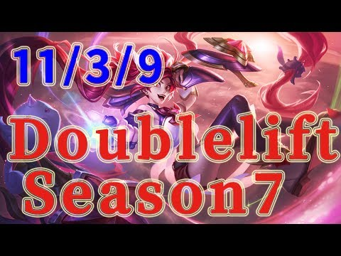 TSM Doublelift Jinx ADC vs Caitlyn Patch 7.14