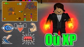 Roblox - Super Power Training Simulator - all places for XP quickly!