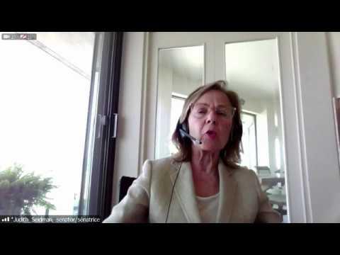 Français: Question du sénatrice Judith G. Seidman