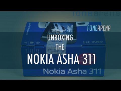 Nokia Asha 311 Unboxing