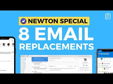 8 Top Email Replacements | Newton Special
