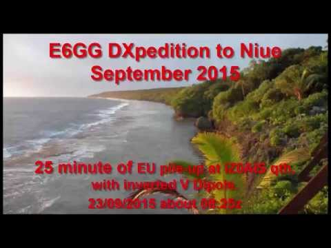 E6GG DXpedition to Niue, September 2015