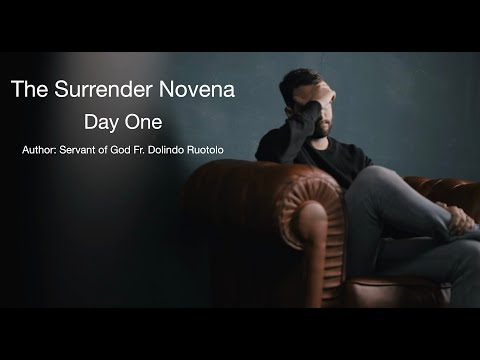 Day 1 Surrender Novena