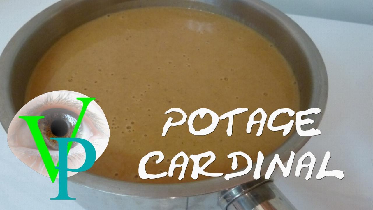 Le potage cardinal en version simplifiée