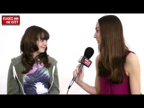 Game of Thrones Maisie Williams Interview - Arya Stark, The Hound, Syrio, Jaqen & Up On The Roof