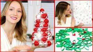 DIY CHRISTMAS ROOM DECOR - FAST & EASY - TheBeauty2go