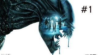 Aliens: Colonial Marines - Walkthrough: Part 1 [HD] [No Commentary] [Xbox360/PS3/PC]