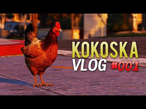 ZEZANJE SA MODOVIMA ! Grand Theft Auto V - Kokoska Vlog #001