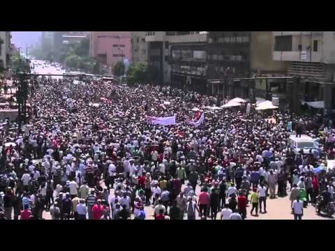 Egypt News   Thousands March Through Streets of Cairo