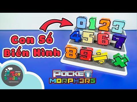 Những Con Số Biến Hình Pocket Morphers ToyStation 269