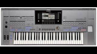 Yamaha Tyros 5 - Piano Voice & Style Free Play
