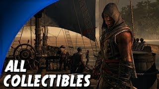 Assassins Creed 4 Freedom Cry DLC - ALL Collectibles