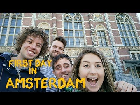 Amsterdam Travel Vlog #1 | Digital Nomad Series #9