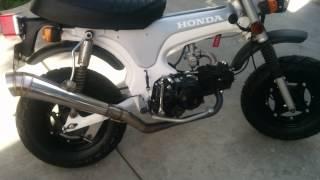 Honda ct70 1974 lifan 140cc 4 up.