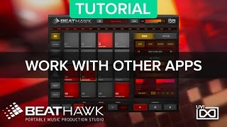 BeatHawk by UVI Portable Music Production Studio for iOS http://www...