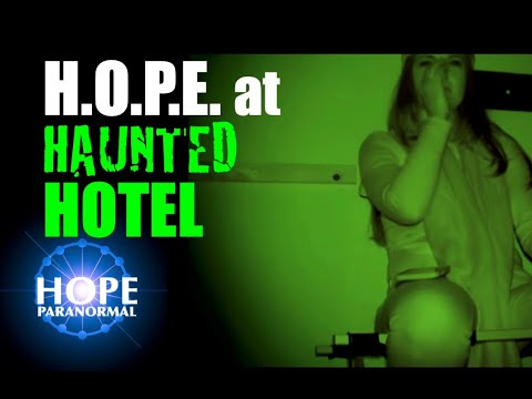 HOPE & War Party Paranormal @ the Gulfstream Hotel