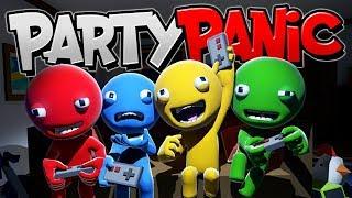 БЕЗУМНАЯ ИГРА ПРО БЕЗУМНЫХ ЧЕЛОВЕЧКОВ! АИД, ХЭЛДОР, ДЕМАСТЕР И ЗОГА! Party Panic