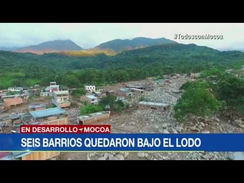 Panorama devastador: dron de Noticias Caracol sobrevuela Mocoa y evidencia magnitud de la tragedia