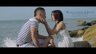 Alexandrine & Kevin Engagement Film + Mariage by Assil Production Cameraman