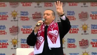 Başbakan Recep Tayyip Erdoğan Ak Parti Elazığ Mitingi FULL KALİTE LOGOSUZ 06.03.2014 .