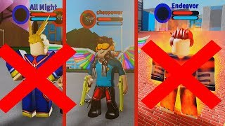 The defeat of the greatest Heroes! Roblox: Boku No Roblox: Remastered