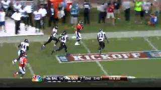 Ravens 27 vs Broncos 49