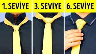 Bir Kravatı Kolayca Nasıl Bağlarsınız: 6 Şahane Fikir