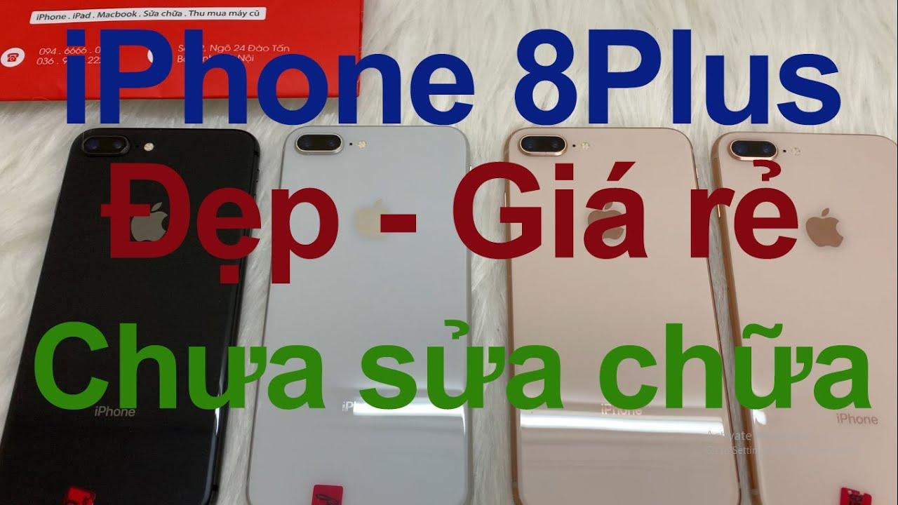 Bán iPhone 8Plus cũ giá rẻ - 64Gb QT - Nguyên zin chưa qua sửa chữa [MRZIN.VN]