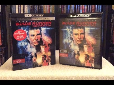 Blade Runner (The Final Cut) 4K BLU RAY UNBOXING + Review
