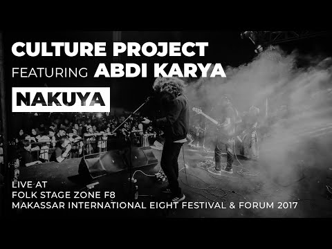 CULTURE PROJECT live in MAKASSAR INTERNATIONAL EIGHT FESTIVAL & FORUM 2017